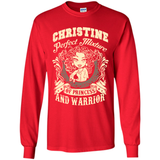 Christine Perfect Mixture Of Princess And Warrior T Shirts-New Wave Tee
