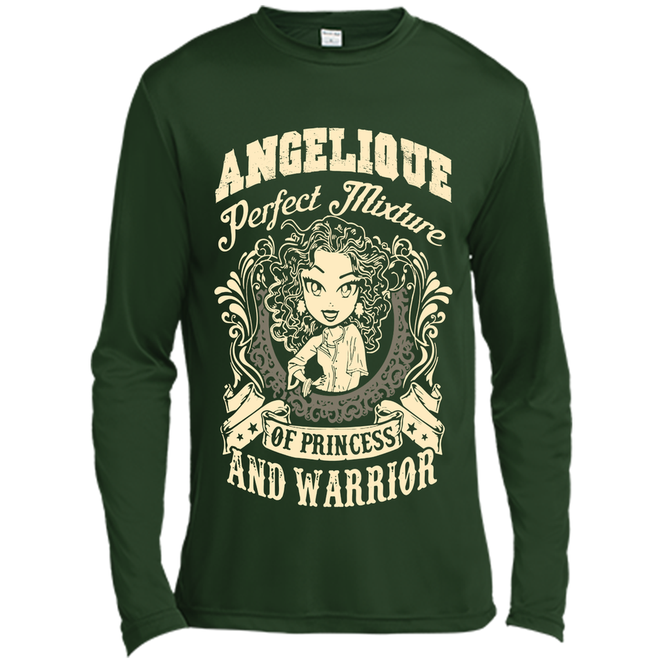Angelique Perfect Mixture Of Princess And Warrior T Shirts-New Wave Tee