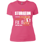 If Sturgeon Can't Fix It We're All Screwed T Shirts-New Wave Tee