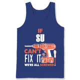 If Su Can't Fix It We're All Screwed T Shirts-New Wave Tee
