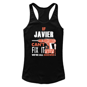 If Javier Can't Fix It We're All Screwed T Shirts-New Wave Tee