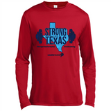 """Strong Like Texas"" Hurricane Harvey Relief tshirt-New Wave Tee"