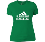 A badass Masseuse T Shirts-New Wave Tee
