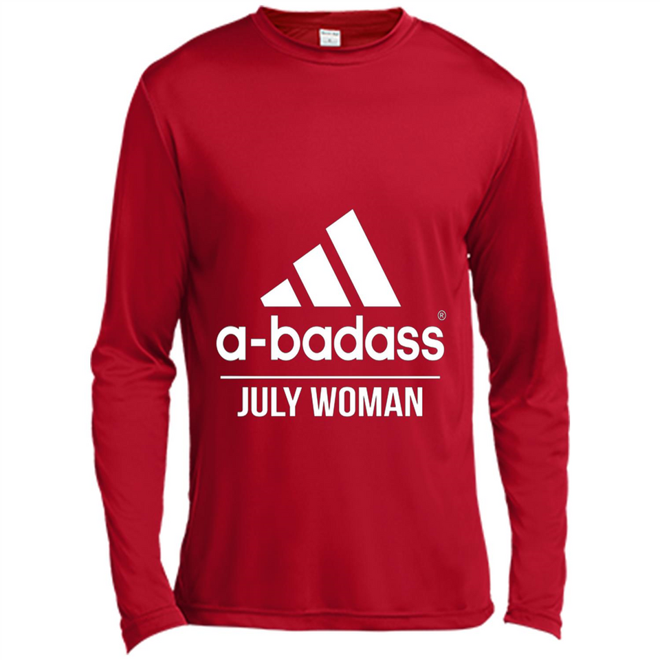 A badass July Woman T Shirts-New Wave Tee