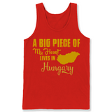 A Big Piece Of My Heart Lives In Hungary T Shirts-New Wave Tee