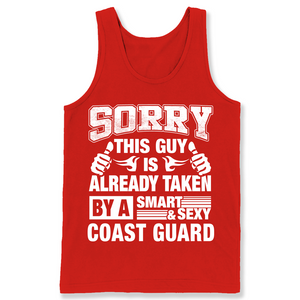 Coast Guard For Boy Friend Or Husband Coast Guard Couple Valentine T Shirts-New Wave Tee