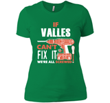 If Valles Can't Fix It We're All Screwed T Shirts-New Wave Tee
