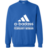 A badass February Woman T Shirts-New Wave Tee