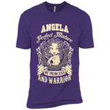 Angela Perfect Mixture Of Princess And Warrior T Shirts-New Wave Tee