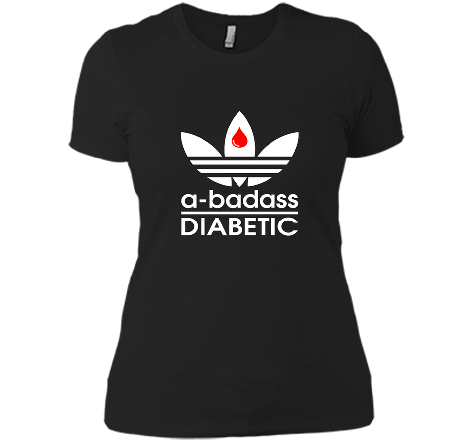 A badass Diabetic T Shirts-New Wave Tee