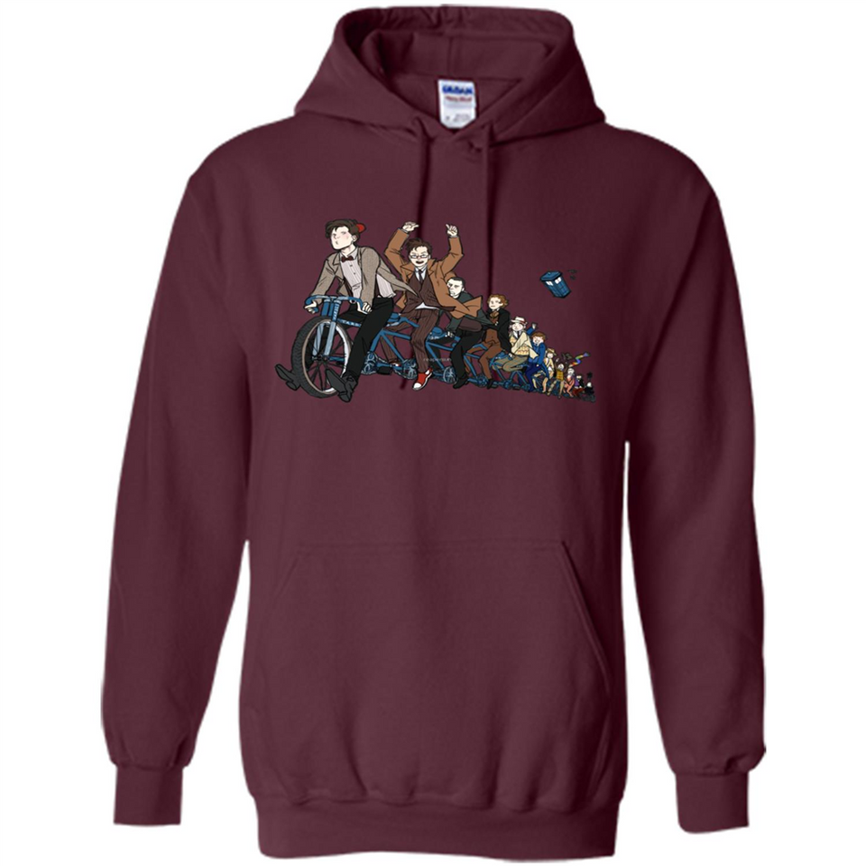 11 Doctors on a bike tshirt-New Wave Tee