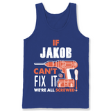 If Jakob Can't Fix It We're All Screwed T Shirts-New Wave Tee