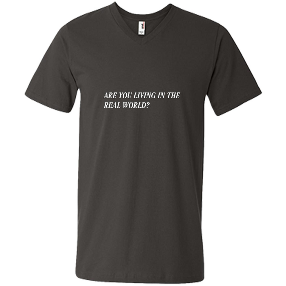 Are You Living In The Real World? tshirt-New Wave Tee