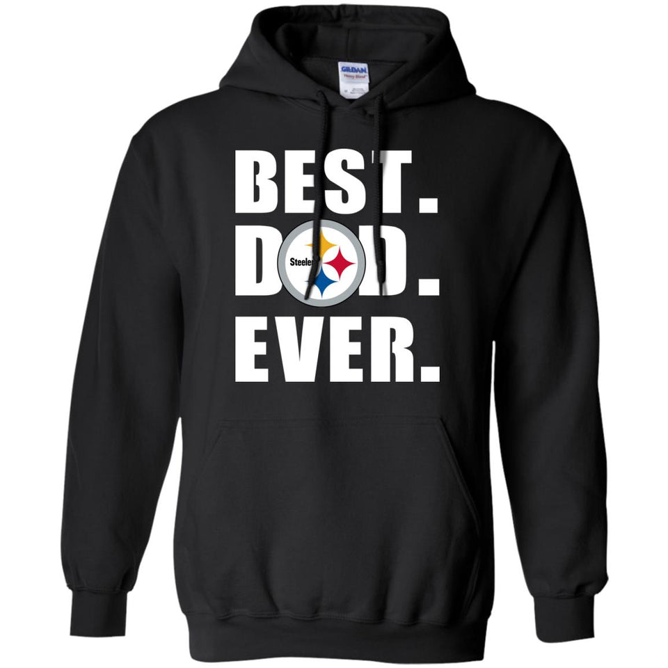 Best Dad Ever Pittsburgh Steelers Football Shirts – New Wave Tee a9213d4e4