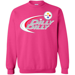 Pittsburgh Steelers Dilly Dilly Bud Light Nfl American Football Logo Shirt-New  Wave Tee d4e31bc2c