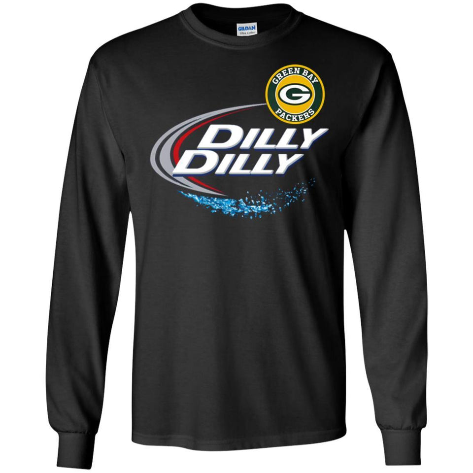 c5422f52d ... Green Bay Packers Dilly Dilly T-shirt Green Bay Packers Gb Nfl Football  Shirts Gift ...