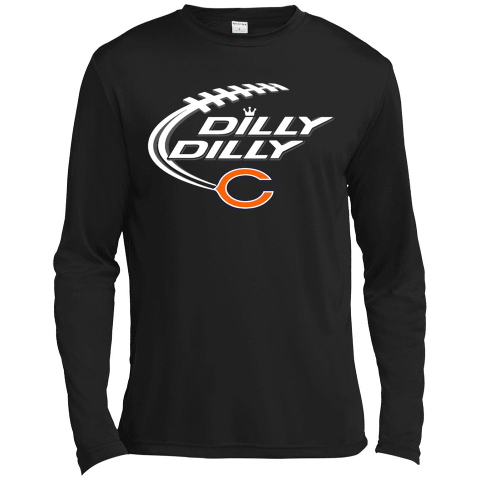 Chicago Bears Dilly Dilly Shirt Nfl Football Gift Fans Christmas ...