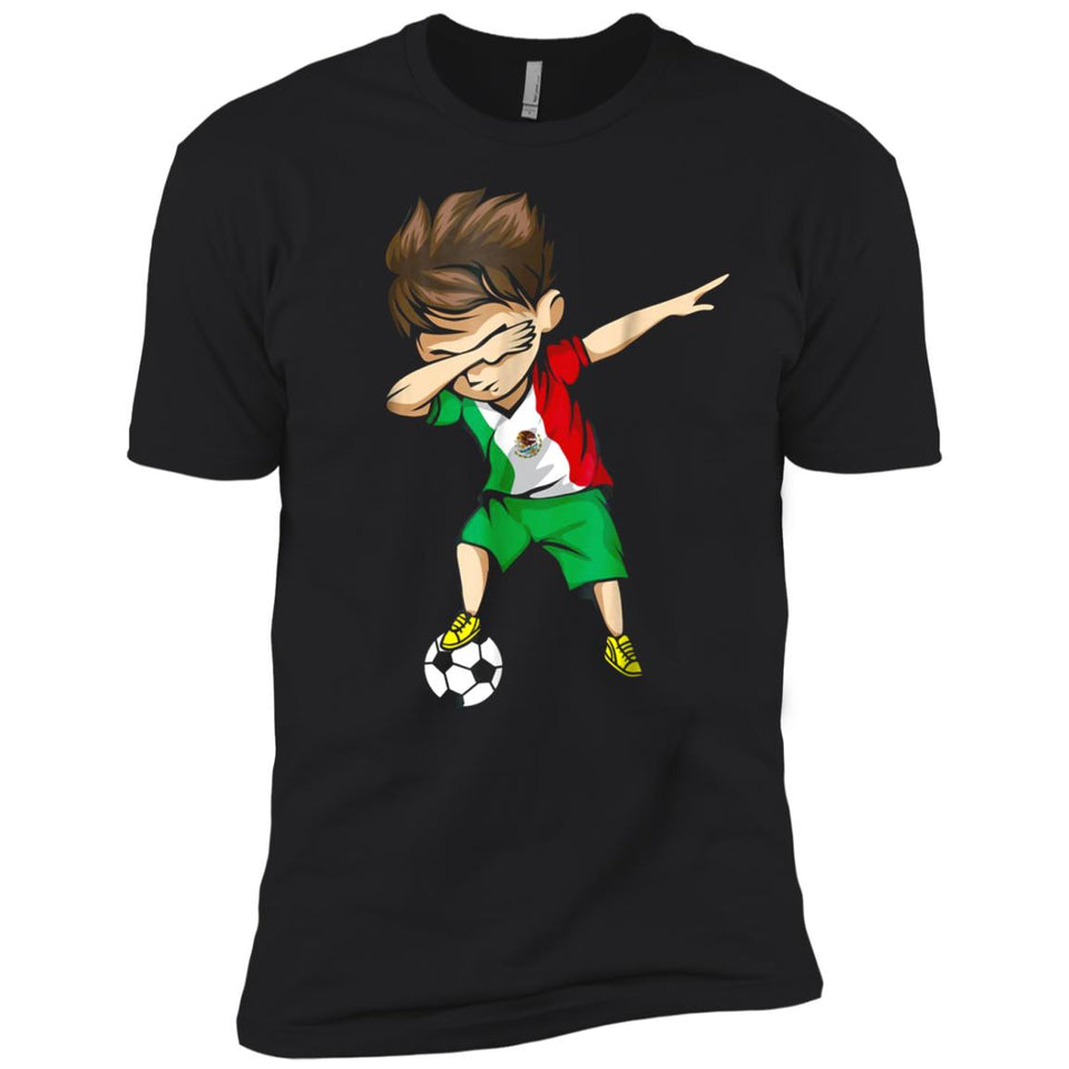 874696f3b2c Dabbing Soccer Boy Mexico Jersey Shirt - Mexican Football – New Wave Tee