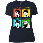 All You Need Is Love Beatles Yoda T Shirts