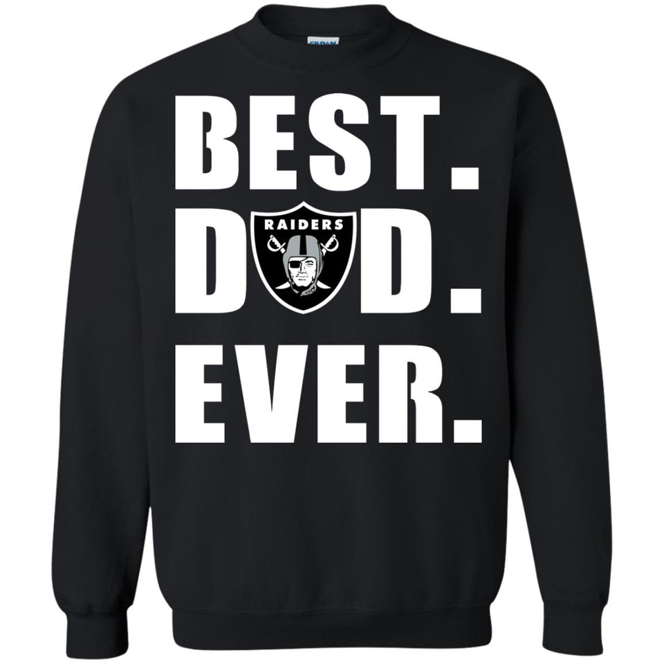 e116d68a Oakland Raiders Best Dad Ever Football Shirts – New Wave Tee