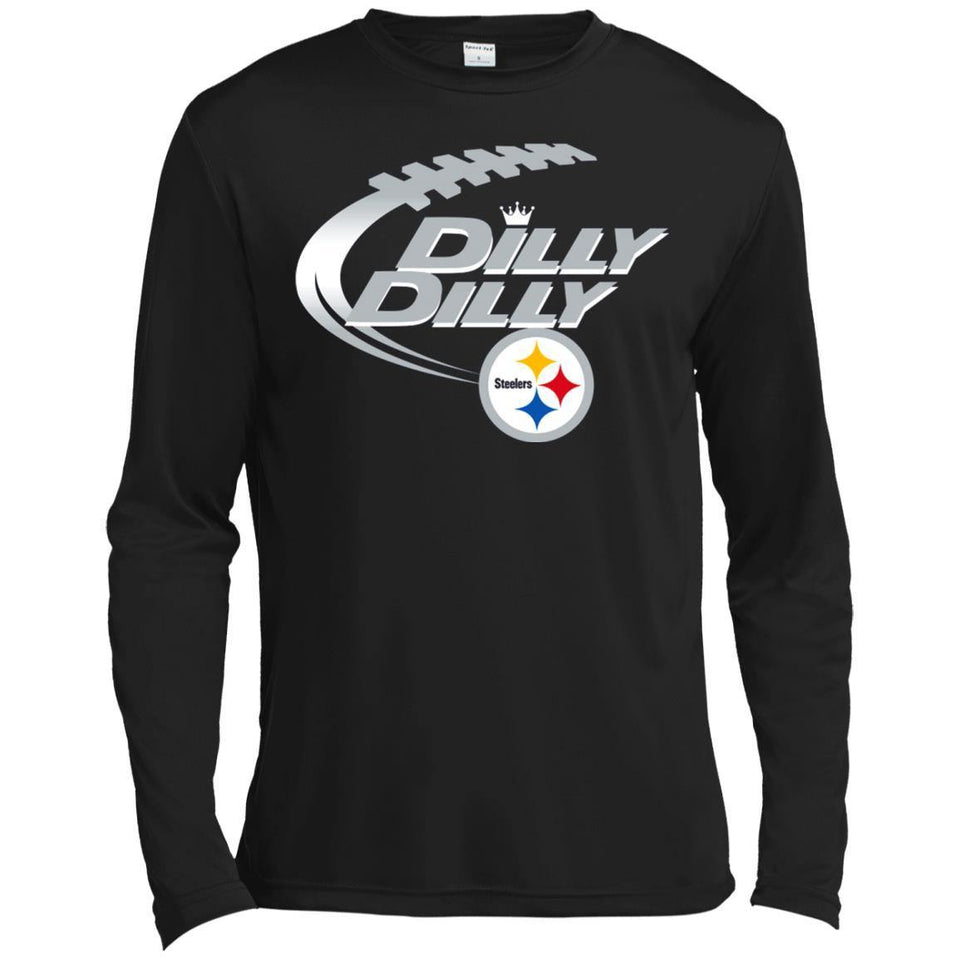 Dilly Dilly Pittsburgh Steelers Nfl American Football Bud Light Logo