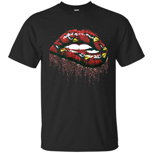 Arizona Cardinals Lip Logo Shirt Tee,