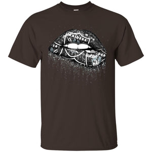 Oakland Raiders Lip Logo Tee,