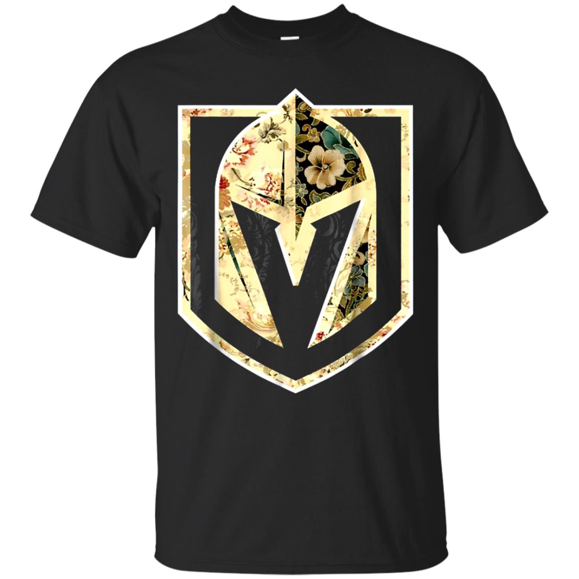 Flower Power Las Vegas Hockey T Shirt Golden Gift Knights