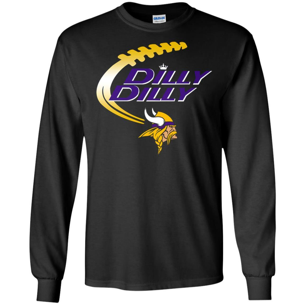 Dilly Dilly Minnesota Vikings Shirt – Hoodie – Long Sleeve – Sweatshirts