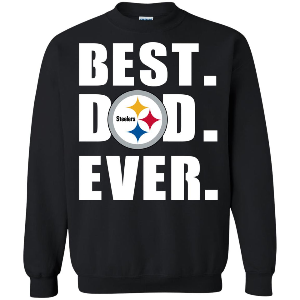 wholesale dealer 9faa2 48c5d Best Dad Ever Pittsburgh Steelers Football Shirts