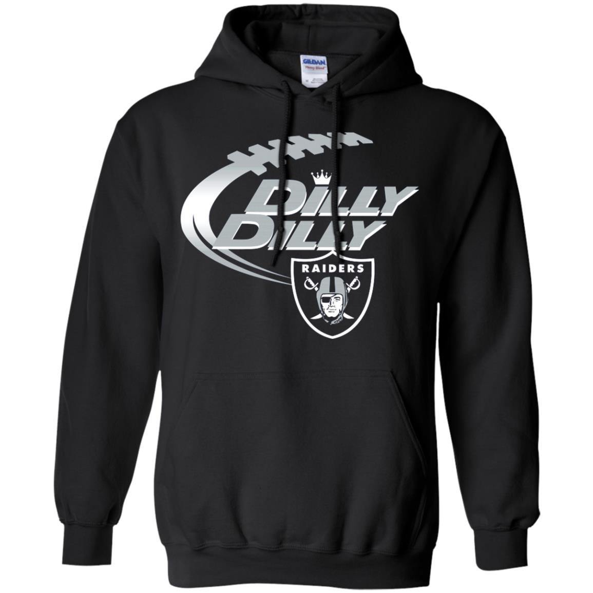 Dilly Dilly Oakland Raiders Nfl American Football Bud Light Logo Shirt