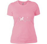Chinese Crested Heartbeat T Shirts-New Wave Tee