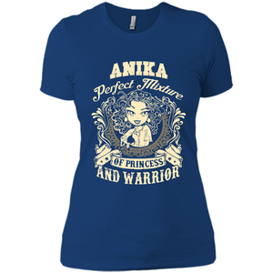 Anika Perfect Mixture Of Princess And Warrior T Shirts-New Wave Tee