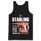 If Starling Can't Fix It We're All Screwed T Shirts-New Wave Tee