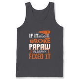 If It Aint Broke Papaw Already Fixed It T Shirts-New Wave Tee
