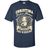 Christina Perfect Mixture Of Princess And Warrior T Shirts-New Wave Tee