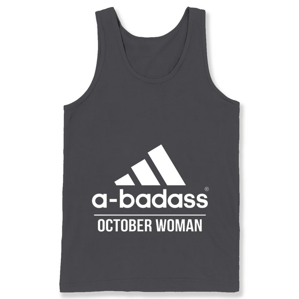 A badass October Woman T Shirts-New Wave Tee
