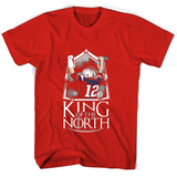 12 King Of The North T Shirts-New Wave Tee