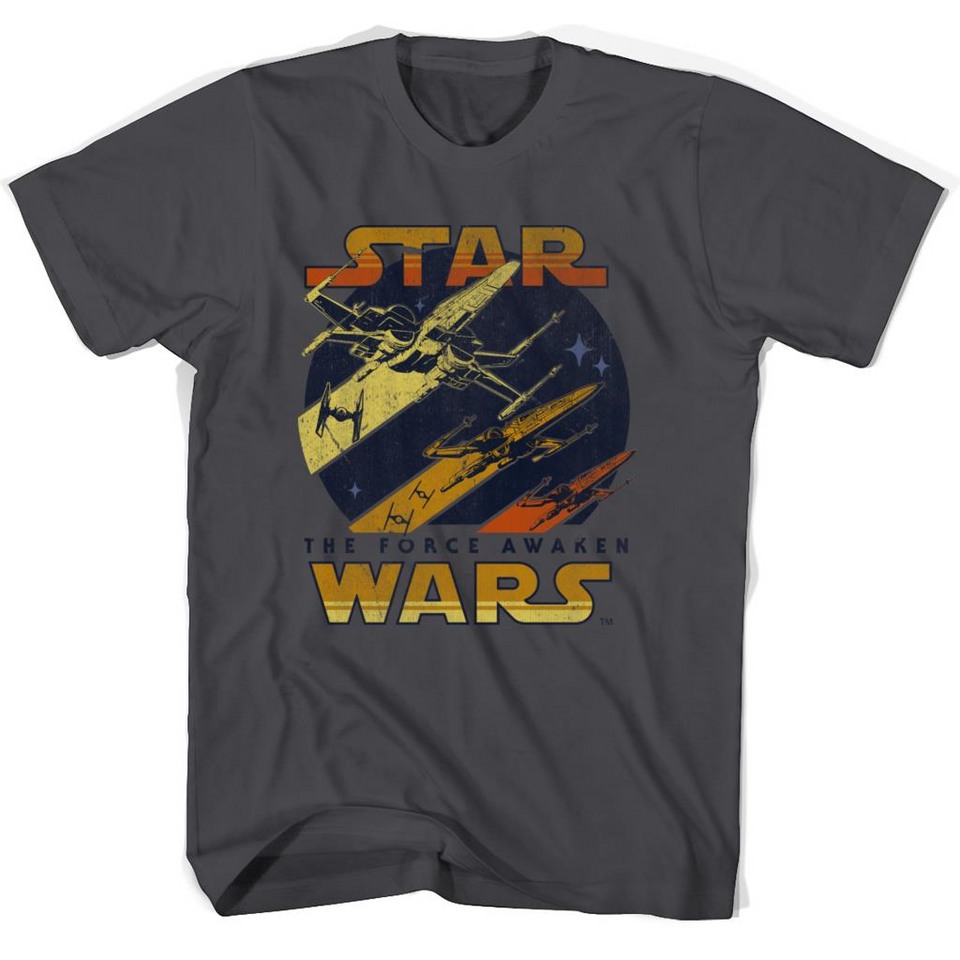 Vintage Red Squadron Star Wars T Shirts