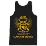 Classical Studies The Power Of Woman Majored In Classical Studies T Shirts-New Wave Tee
