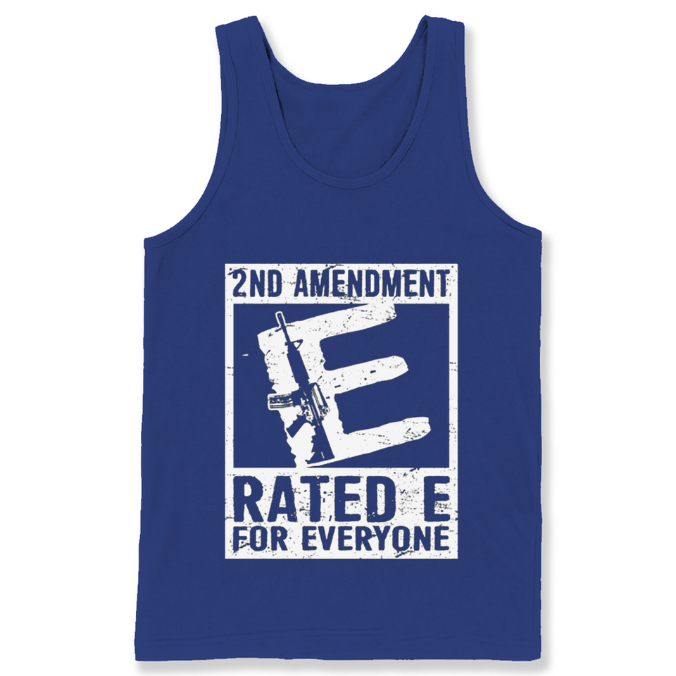 2nd Amendment Ratede For Everyone T Shirts-New Wave Tee