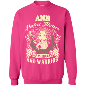 Ann Perfect Mixture Of Princess And Warrior T Shirts-New Wave Tee