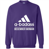 A badass December Woman T Shirts-New Wave Tee
