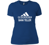A badass Bank Teller T Shirts-New Wave Tee