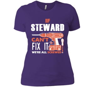 If Steward Can't Fix It We're All Screwed T Shirts-New Wave Tee