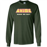 Anime Made Me Gay tshirt-New Wave Tee