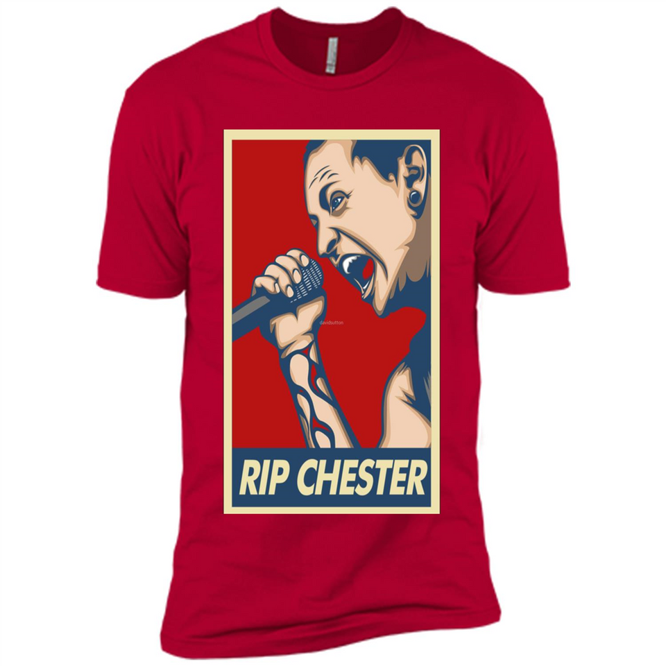 Chester RIP Shirts-New Wave Tee