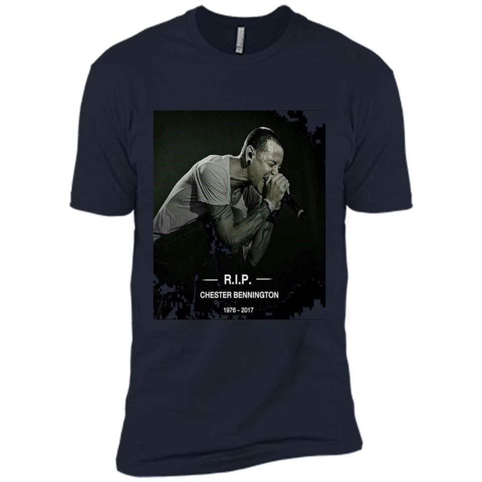 chester bennington tshirt-New Wave Tee