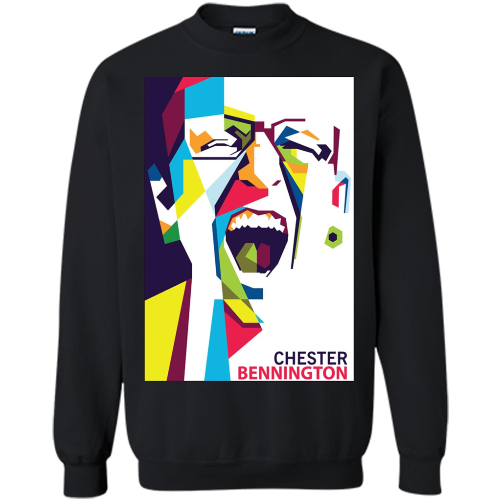 Chester Bennington Art Graphic Shirts-New Wave Tee