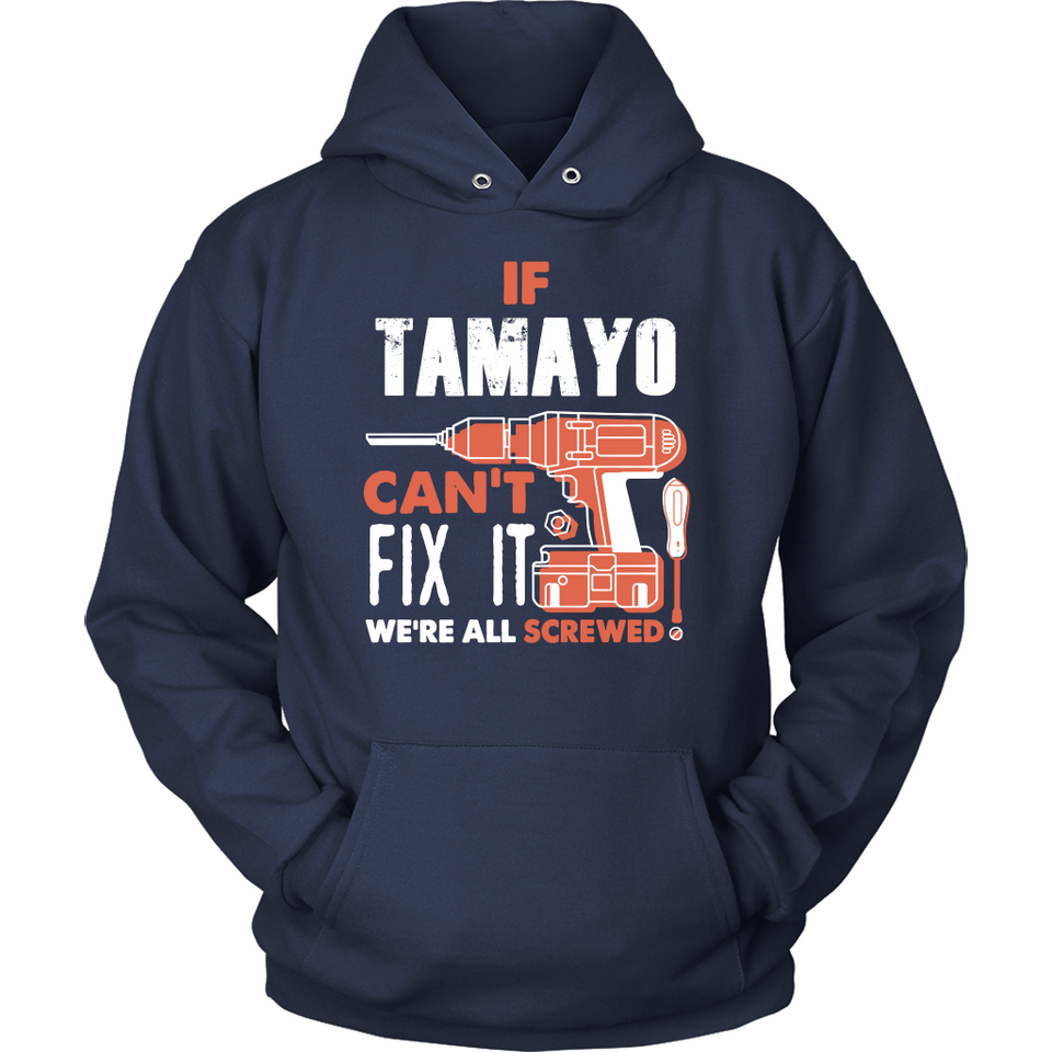 If Tamayo Can't Fix It We're All Screwed T Shirts-New Wave Tee